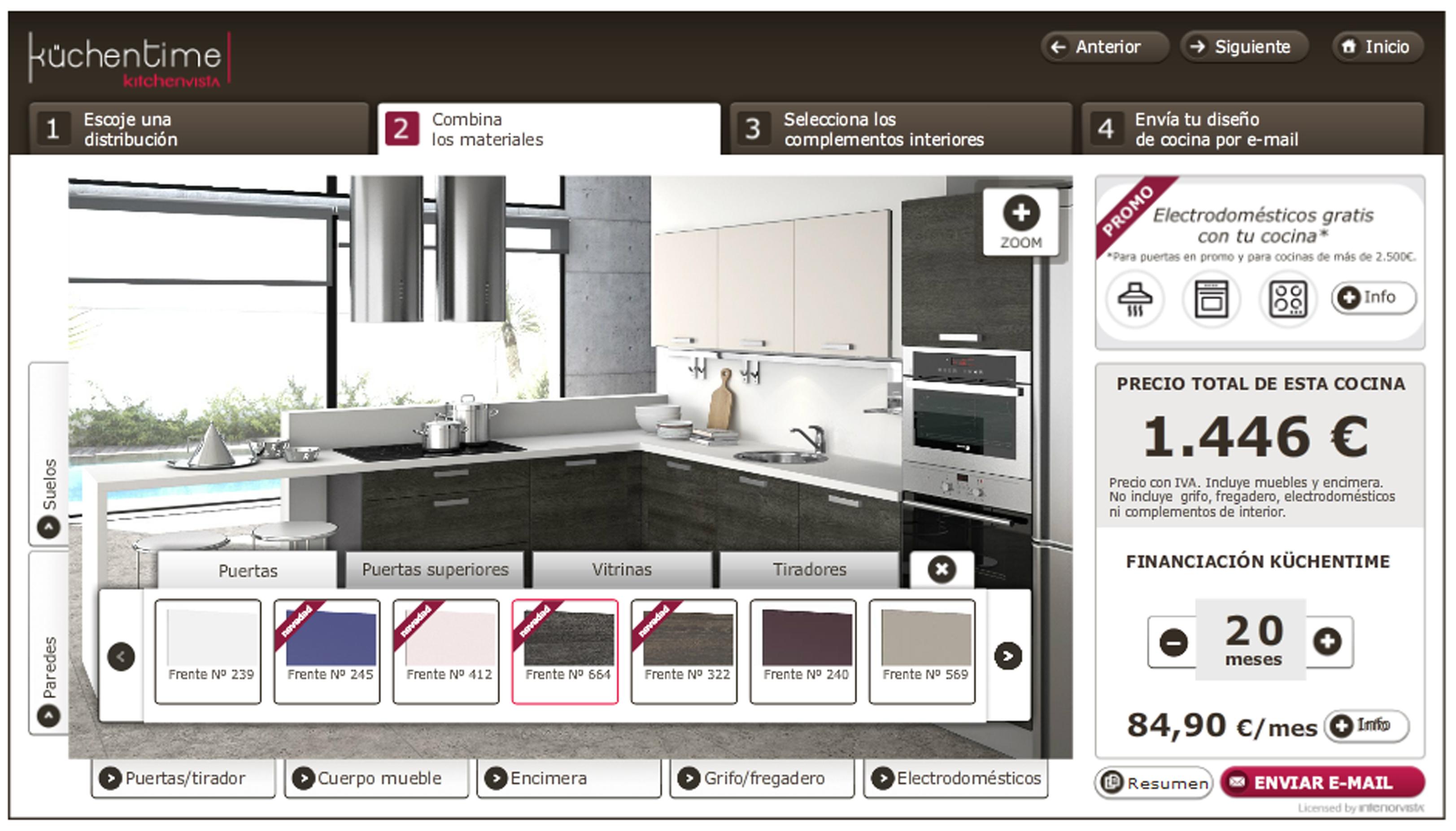 Dise a tu cocina online casa dise o casa dise o for Disena tu mueble online