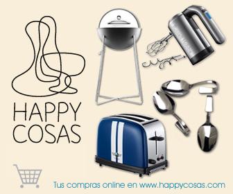 Happy cosas tienda online de regalos notas de prensa for Cosas de cocina originales