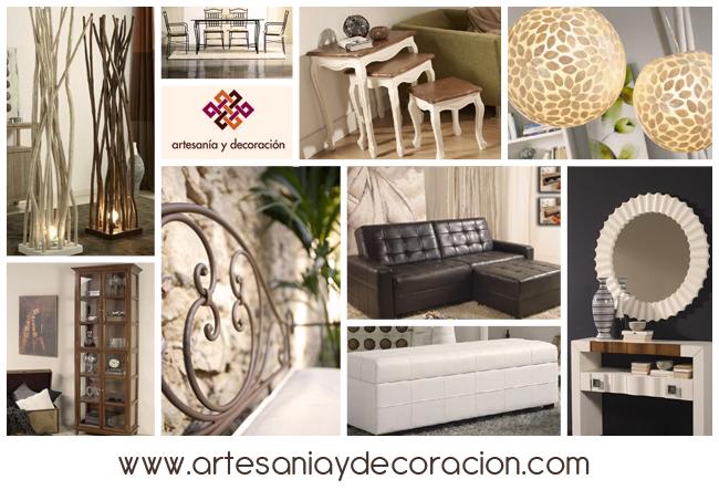 Artesan a y decoraci n infinitas formas de decorar - Artesania y decoracion ...