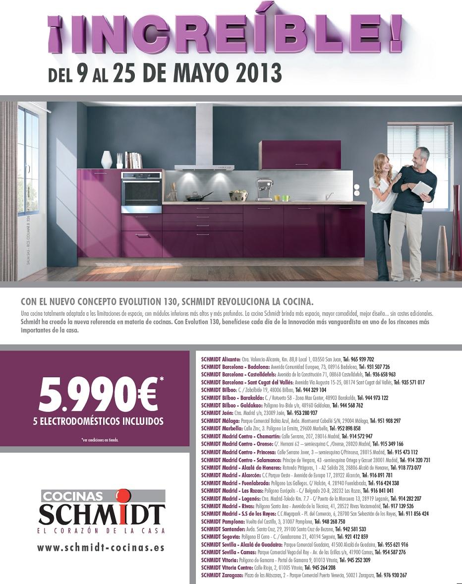 Schmidt cocinas promociona sus cocinas m s notas de prensa - Cocinas schmidt precios ...