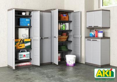 Casas cocinas mueble armarios almacenaje for Armario almacenaje bano