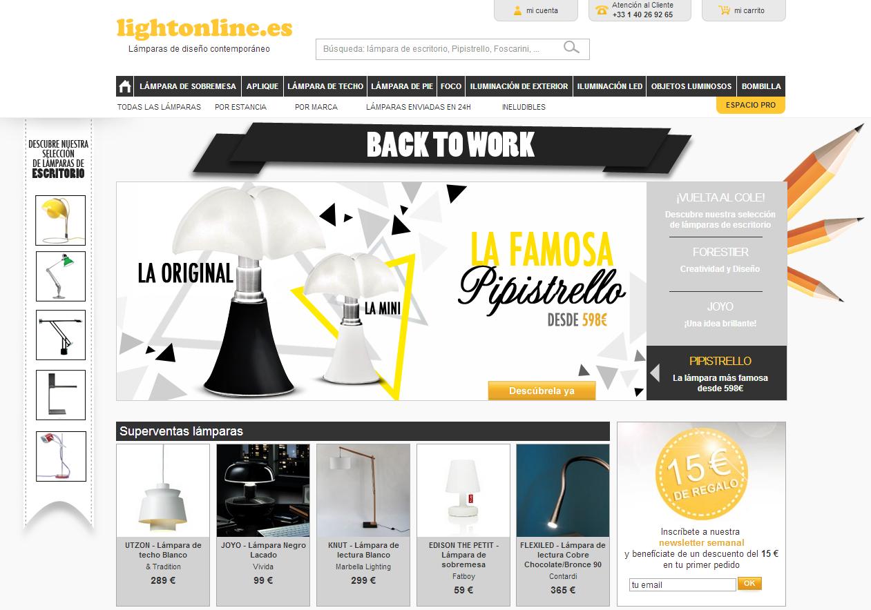 LightOnline pone el foco en España