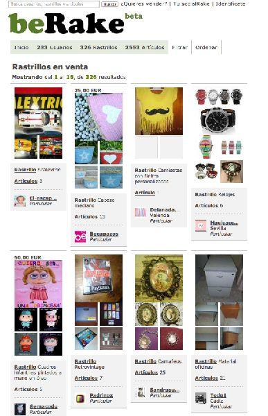 beRake.com, tu Garage Sale en España