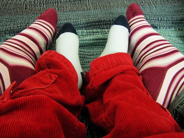 Foto de Navidad sin calcetines