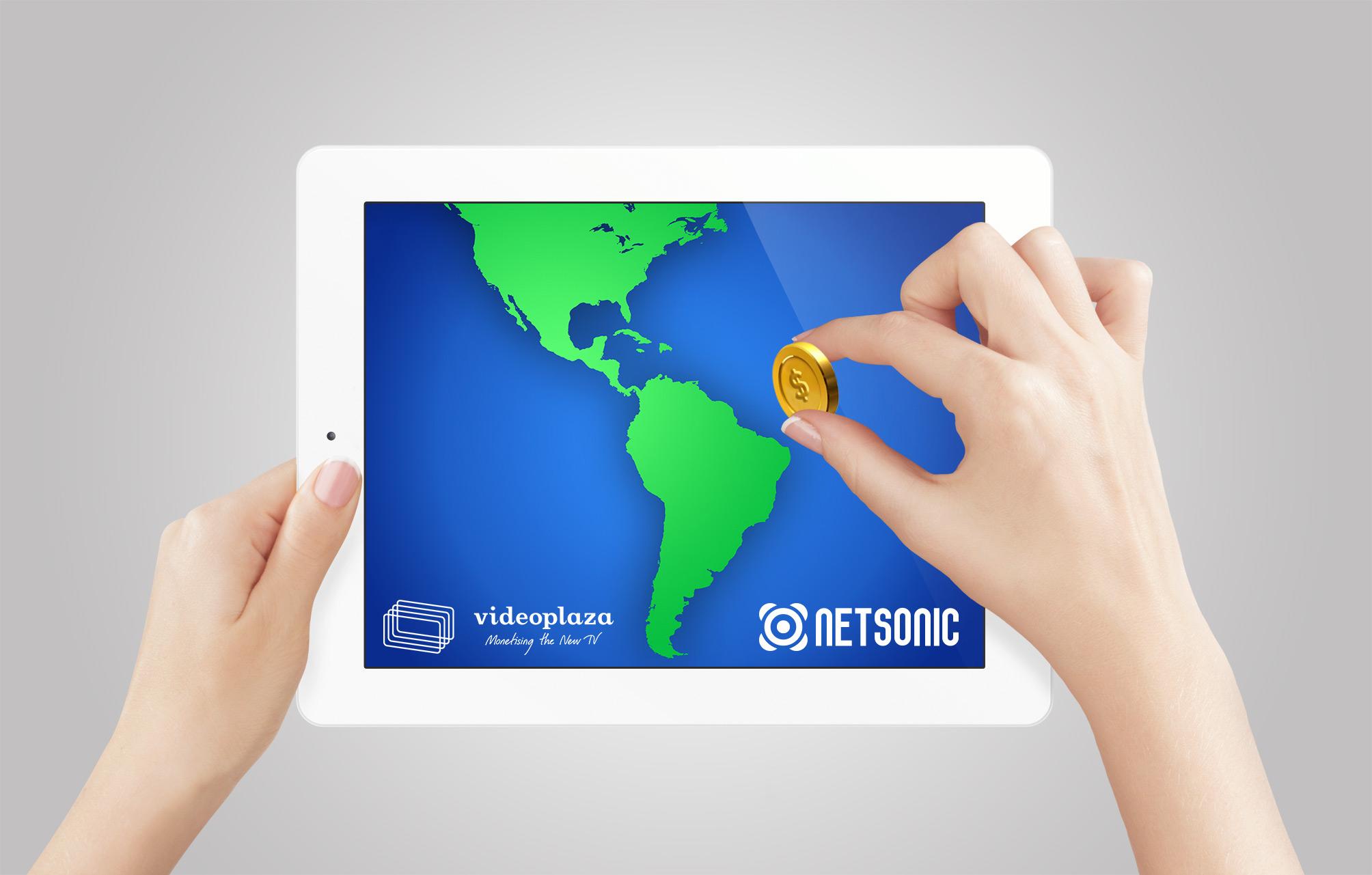 Netsonic y Videoplaza traen la monetización del video a Latinoamérica.