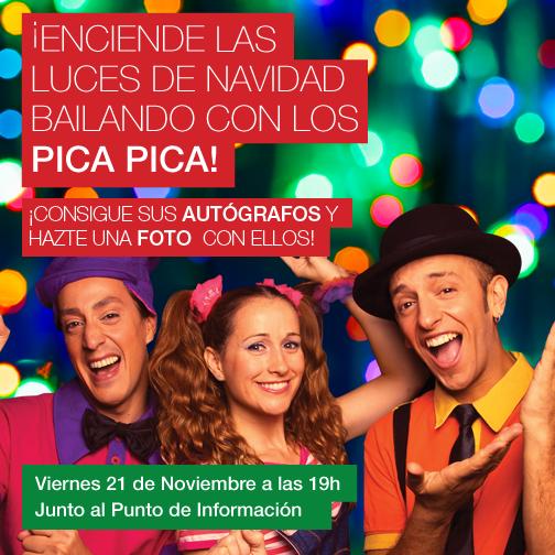 El grupo Pica Pica inaugura las Navidades más divertidas en