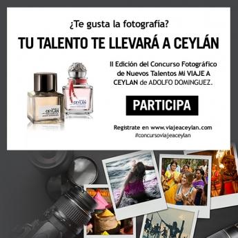 II Concurso fotográfico de nuevos talentos: Mi VIAJE A CEYLAN