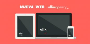La agencia de marketing de Barcelona allinagency_ lanza su nueva web