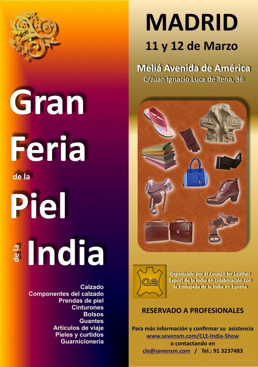 Gran Feria de la Piel de la India 2015 en Madrid