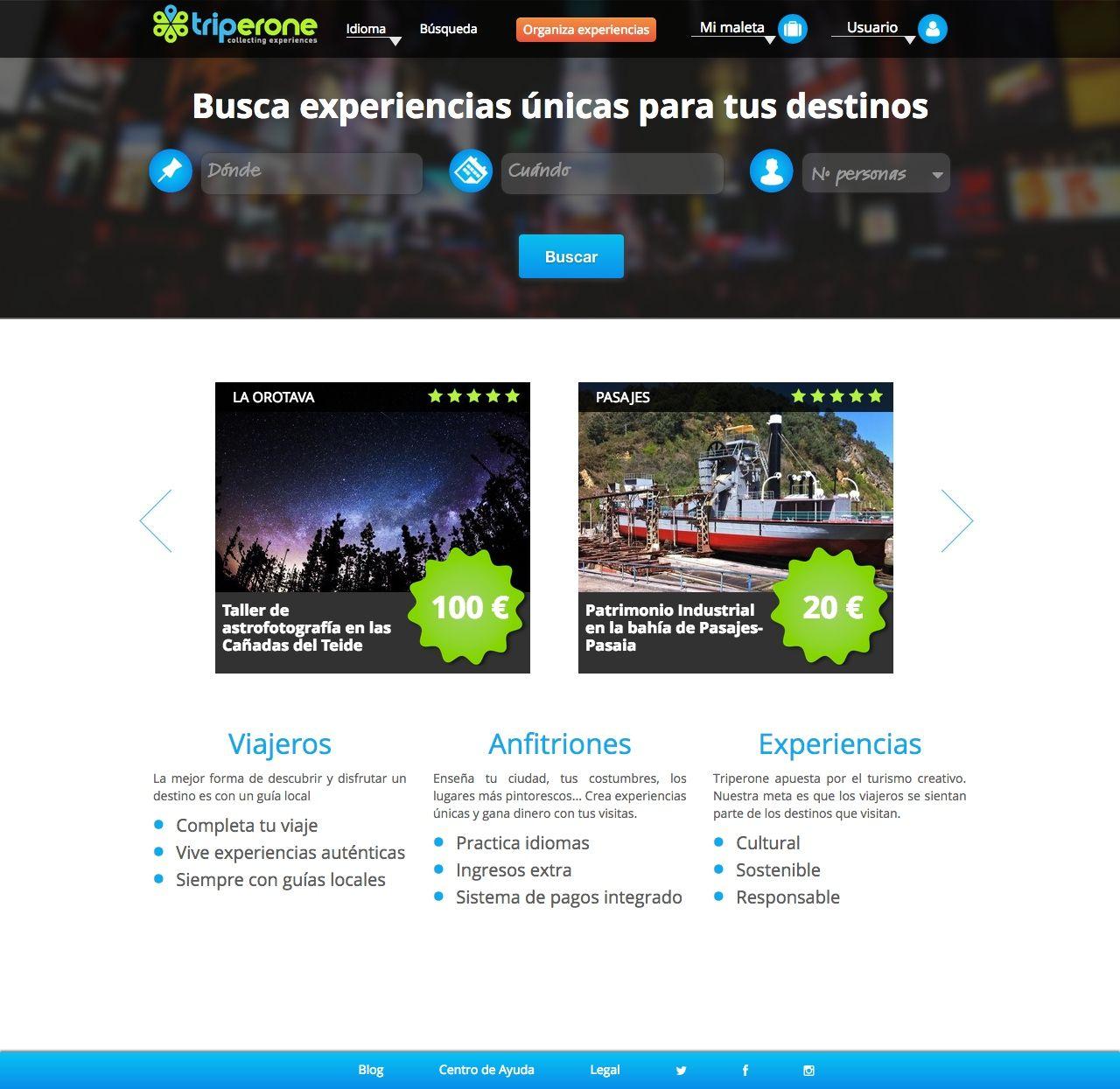Triperone.com, para viajeros con pasiones