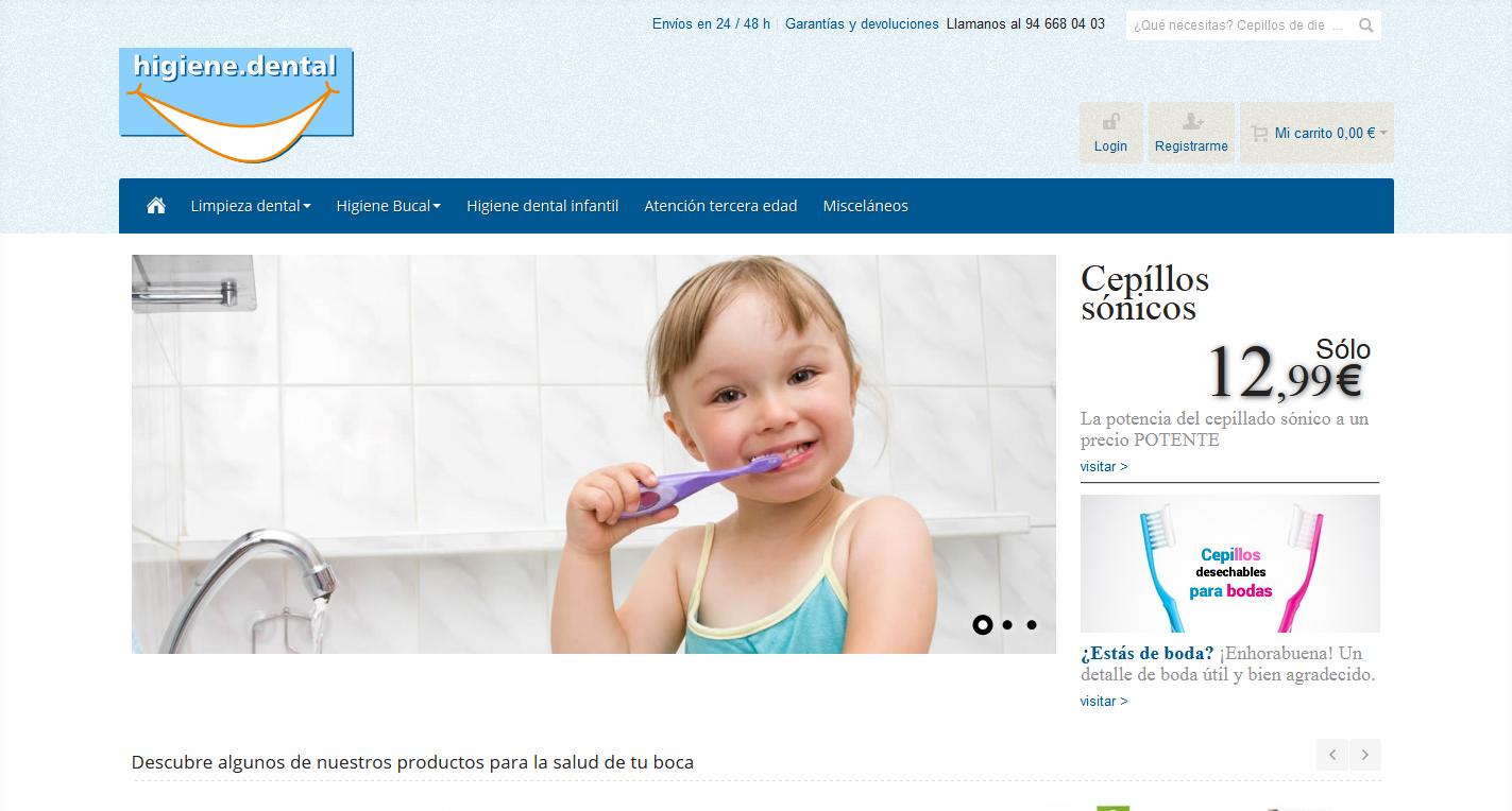 Nos mudamos a higiene.dental