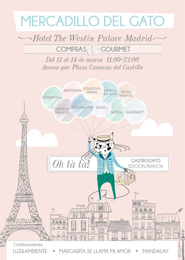 El Mercadillo del Gato traslada su pop up al hotel Palace
