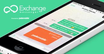 Exchange Messenger, la app para enviar dinero y tarjetas regalo mientras chateas