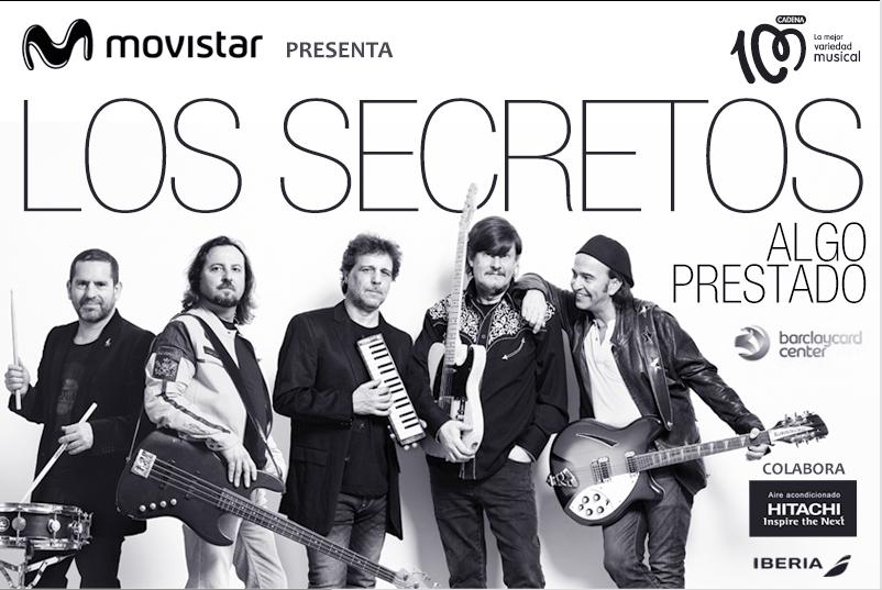 Los Secretos lanzan nuevo disco y gira con HITACHI aire acondicionado
