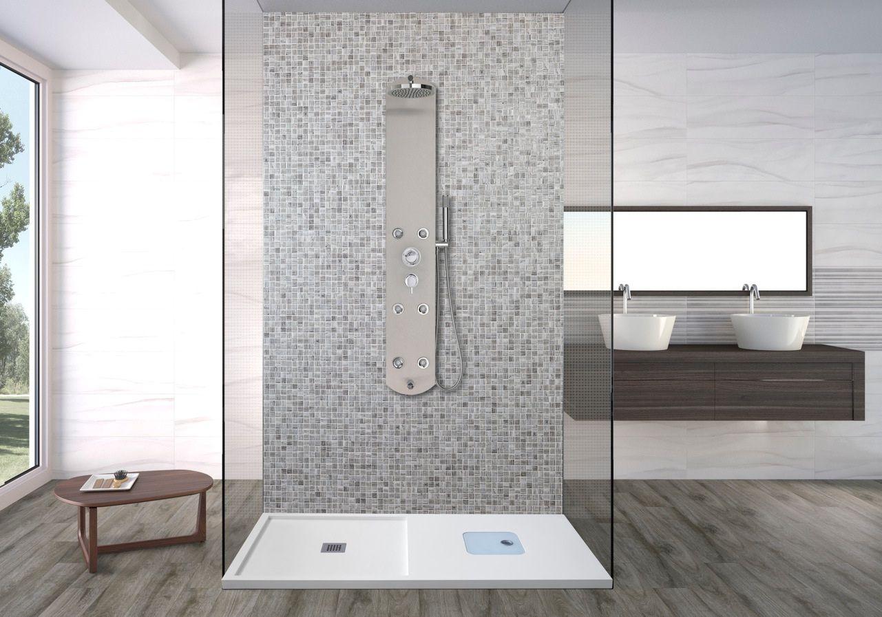 Asealia y syan incorporan al mercado los platos de ducha for Articulos de ducha