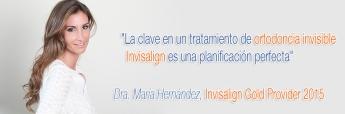 """La Dra. María Hernández, experta ortodoncista de la Clínica dental Los Valles, encabeza el reconocimiento """"Invisalign Gold Provi"""