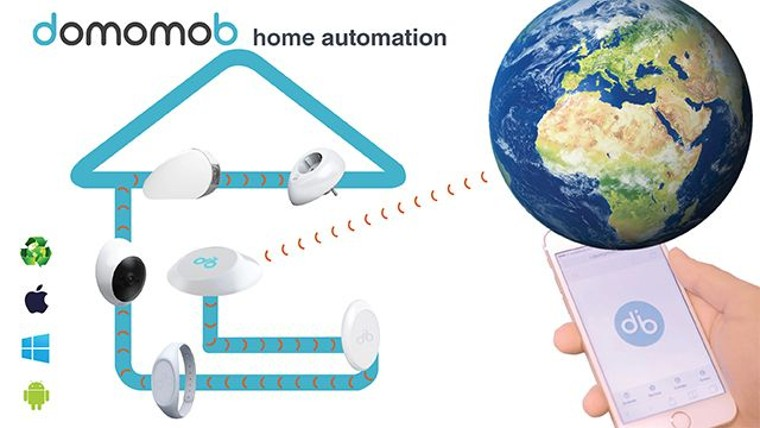 domomob Launches a New Revolutionary Home Automation System Which Does Not Emit Electromagnetic Radiation