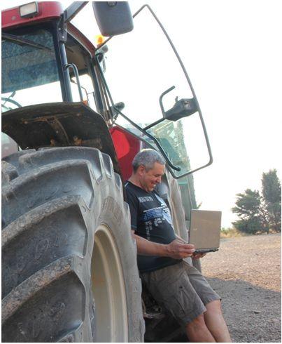 Desde su aldea de 8 habitantes un agricultor se codea con una Fintech