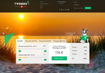 Twinero, créditos rápidos online