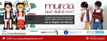 II Edición Murcia, ¡Qué Digital Eres! 2015