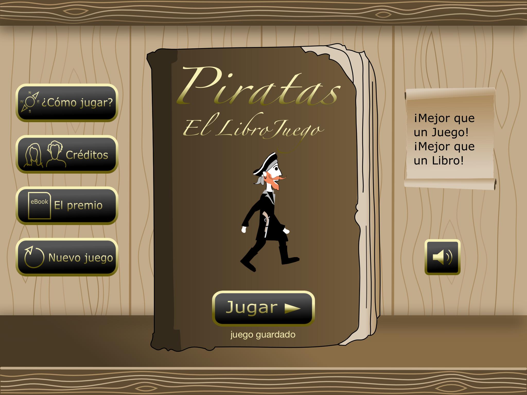 Piratas el LibroJuego estimula la lectura con tiros y explosiones