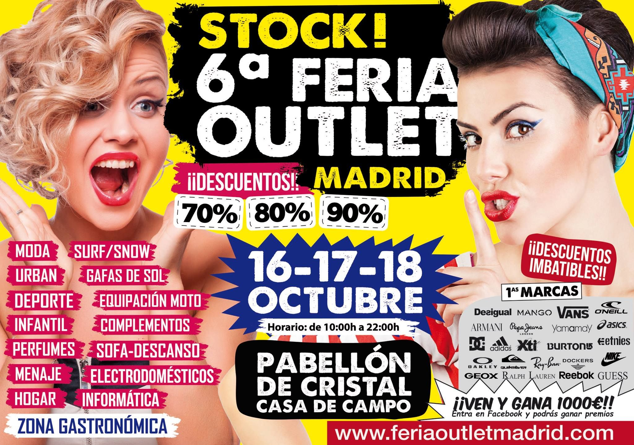 Madrid recibe a la feria outlet madrid y al salon look - Feria outlet madrid 2017 ...