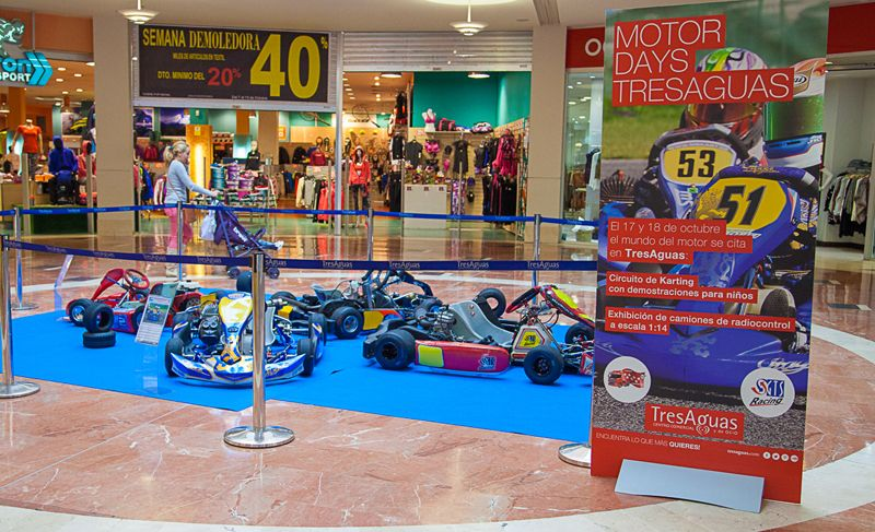 El mundo de los Karts infantiles llega a TresAguas en la Motor Days