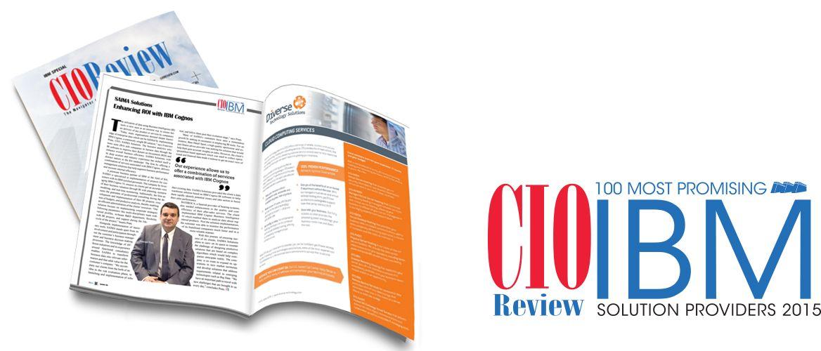 Saima Solutions, elegida como uno de los 100 mejores partners de IBM Cognos del mundo