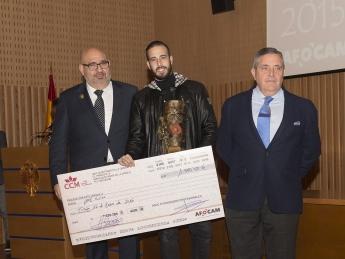 Carlos Santana se hizo con 3 nominaciones 1 primer premio en Libre Creación, Premio Quijote Oro y cheque de 1000€