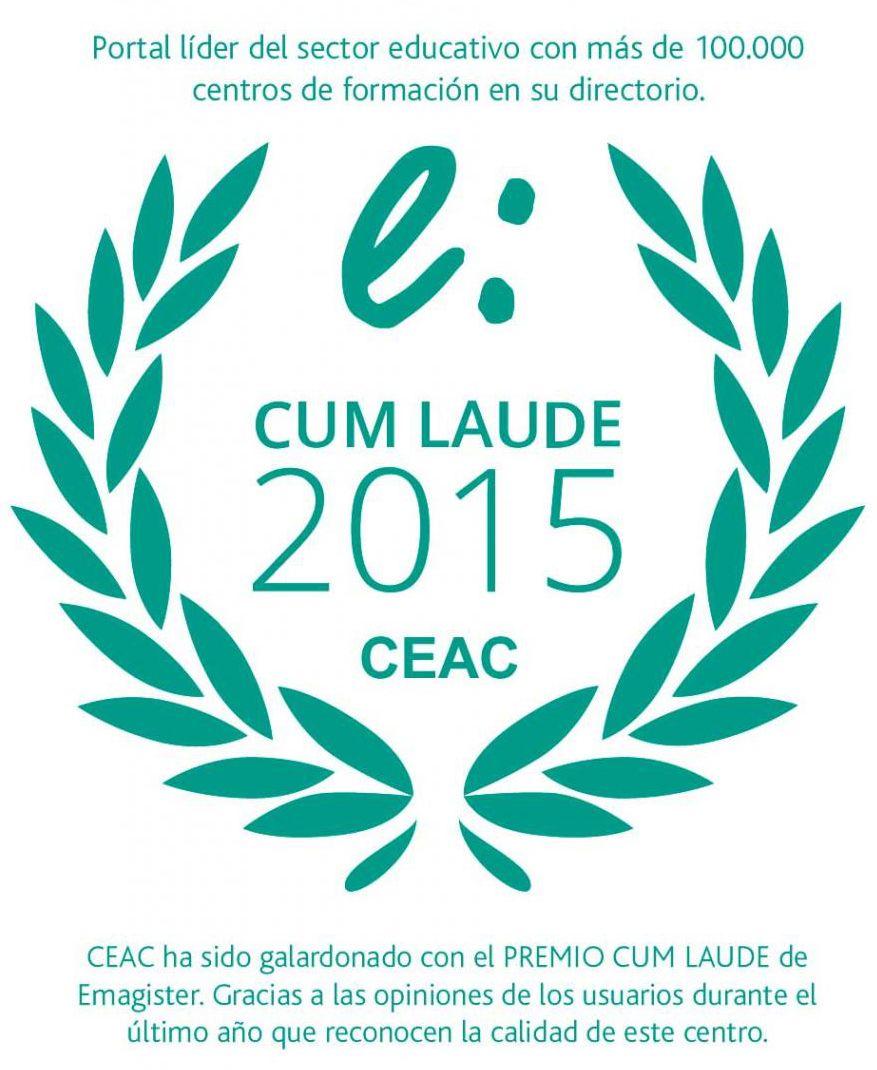 Emagister concede el sello Cum Laude 2015 a CEAC