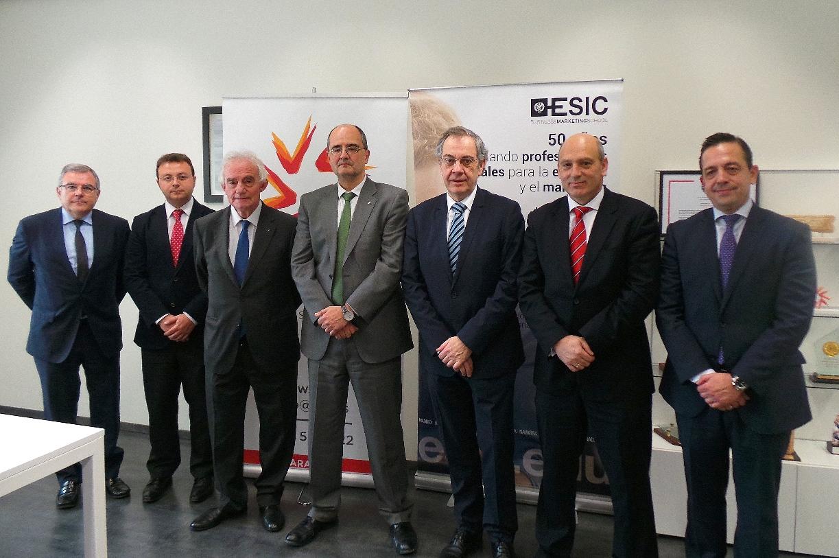 Acto firma convenio Universidad San Jorge y ESIC