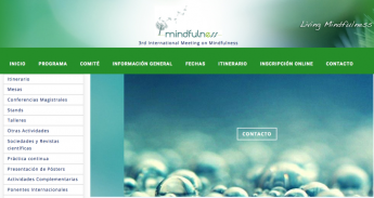 Web III Congreso Internacional Mindfulness