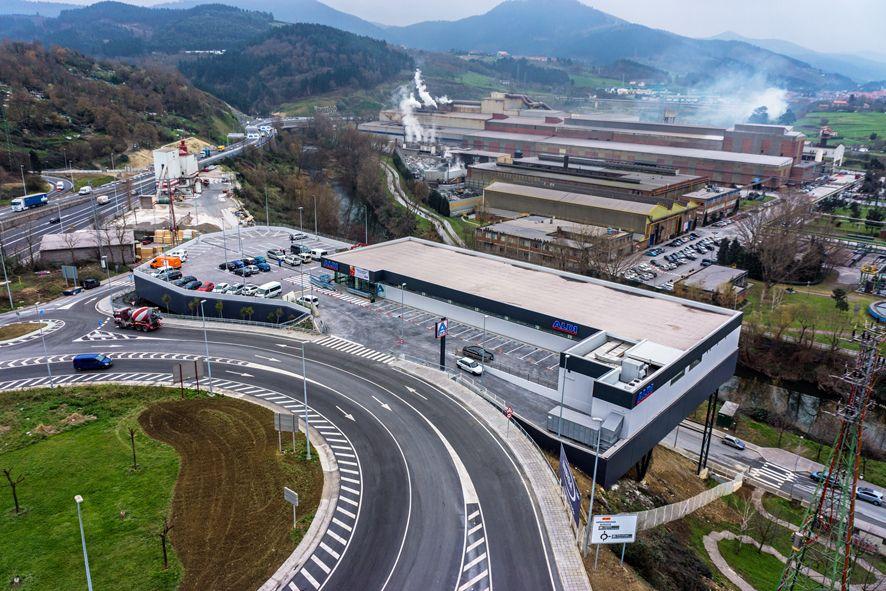 INBISA finaliza el nuevo supermercado de Aldi en Basauri (Bizkaia)