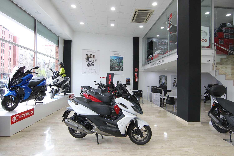 Kymco abre una tienda exclusiva en el centro de Girona de la mano de Motos Trafach