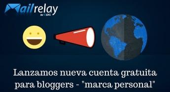 Cuenta gratuita de email marketing para bloggers