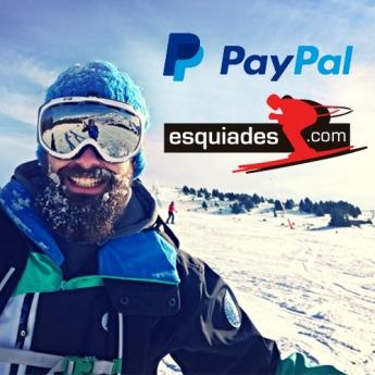 Esquiades.com ya acepta pagos con PayPal a través de su web