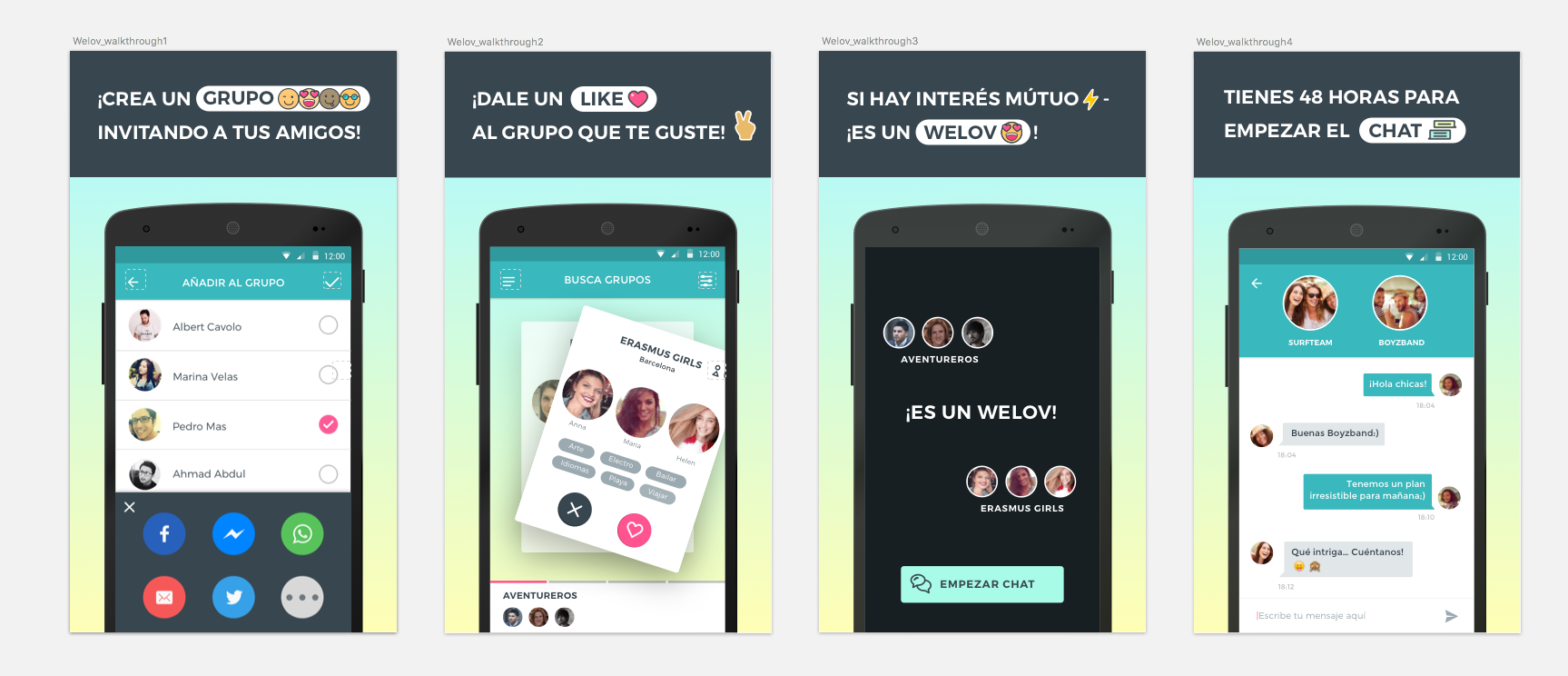 Welov: ma?s alla? de las social dating apps.