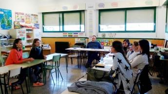 Una de las sesiones de formación en Mediación Escolar