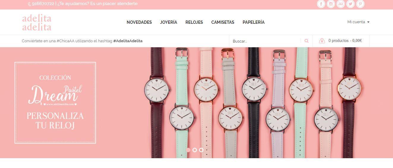 Adelita Adelita, la marca de joyas bonitas estrena nueva web