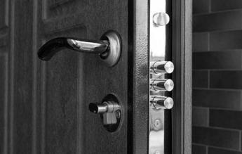 Escudo protector de seguridad para puerta
