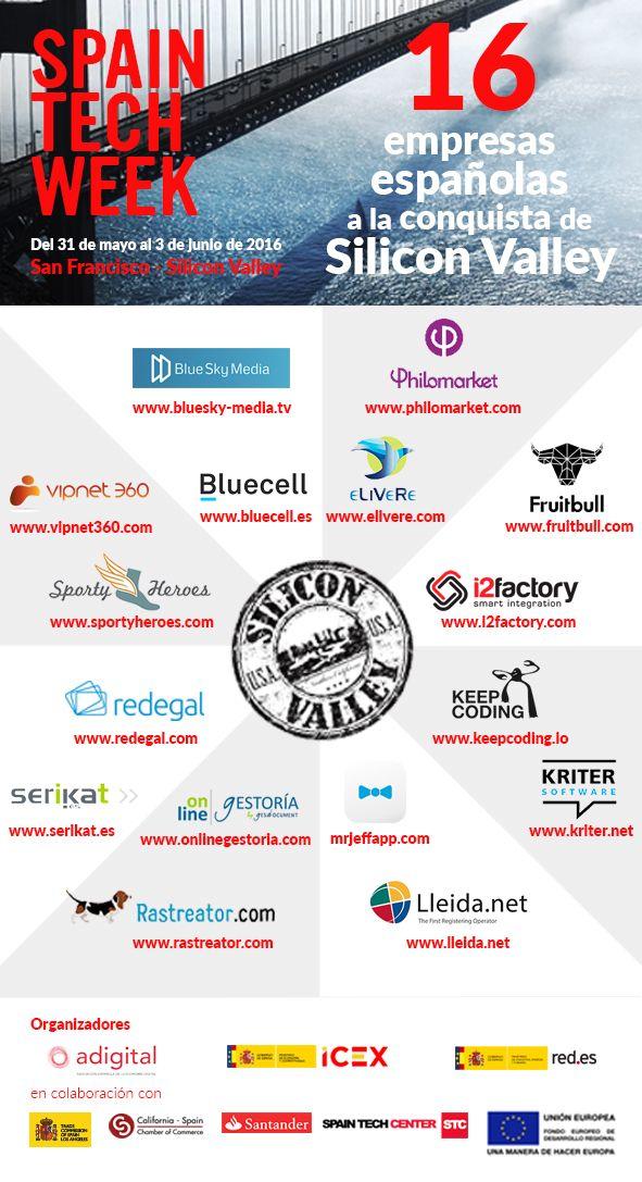 Fotografia 16 empresas españolas a la conquista de Silicon Valley