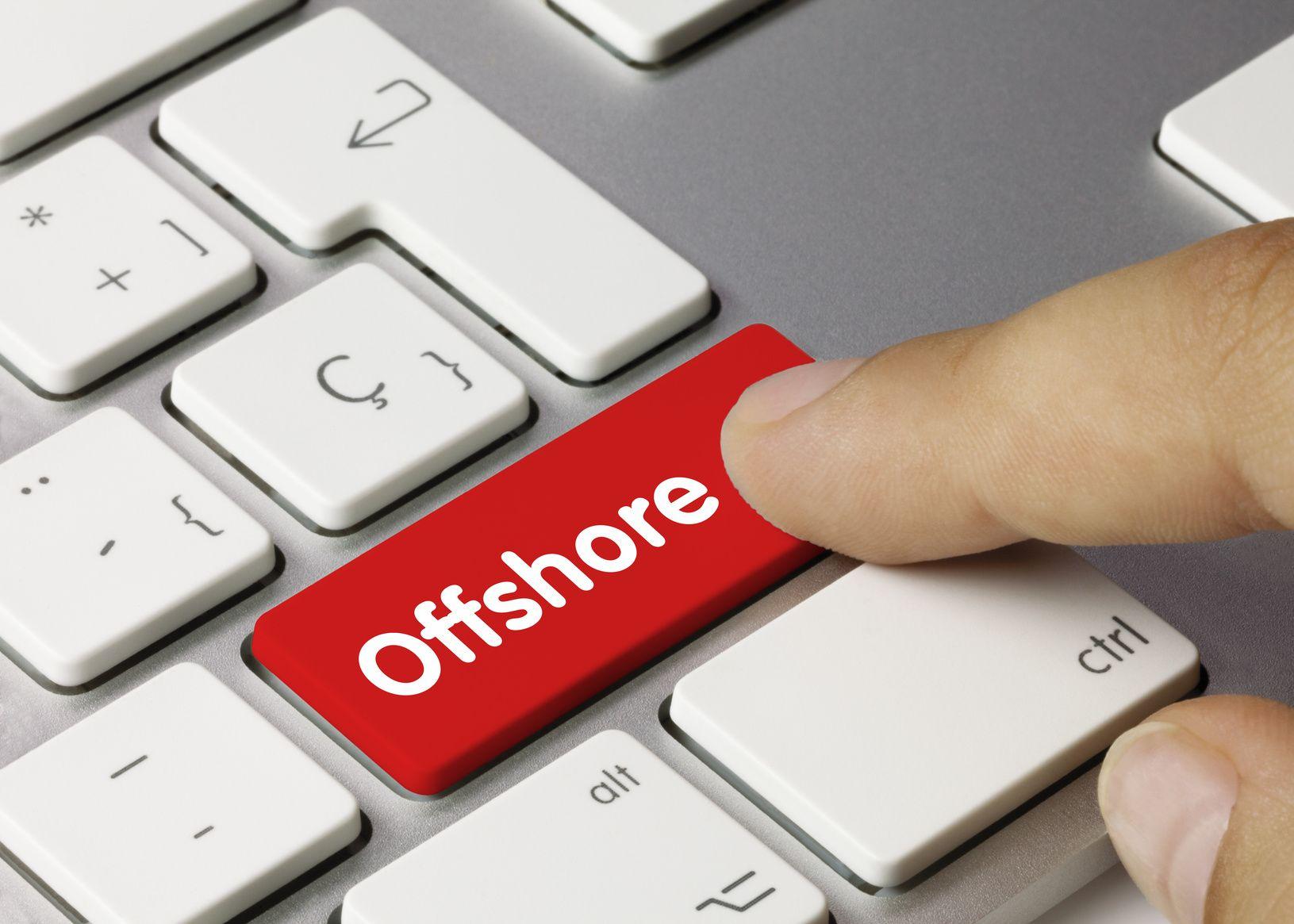 Fotografia banca offshore