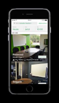 Rooms App. Disponible en iPhone 6s Device (Alemania)