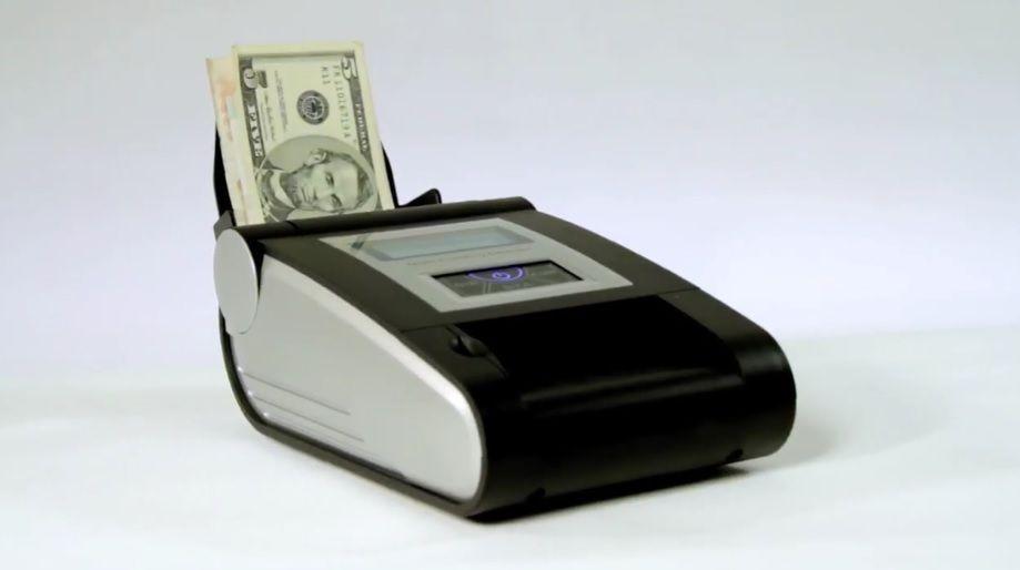 Fotografia Detector de billetes falsos he-300