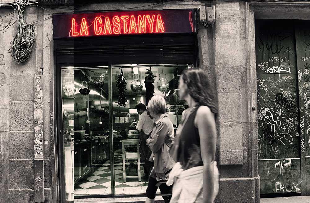 Un restaurante canalla en un barrio de contrastes