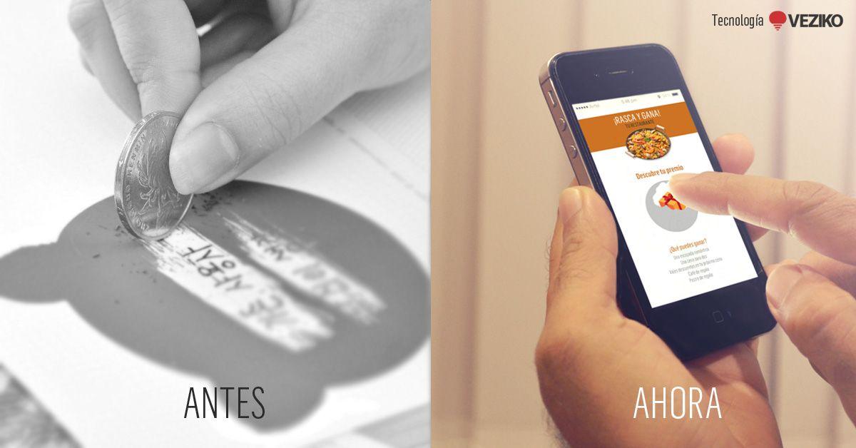 Fotografia Rasca Rasca en papel y digital. Innovación en un juego