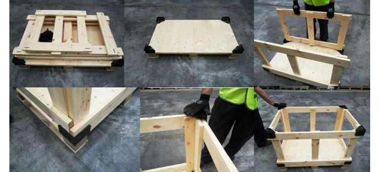 TM2, contenedores de madera que se montan sin herramientas