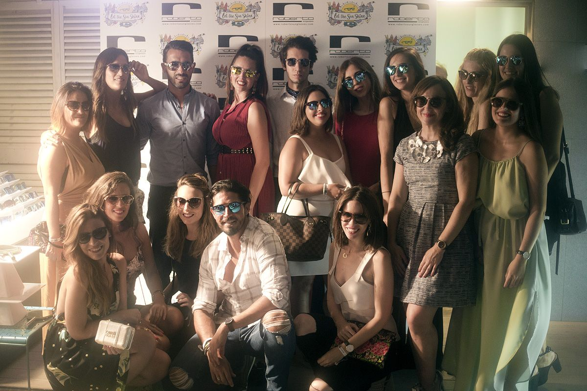 Roberto Sunglasses celebra junto a 'bloggers' de moda su fiesta del verano