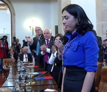 La alcaldesa de Mondoñedo presenta en Madrid su municipio