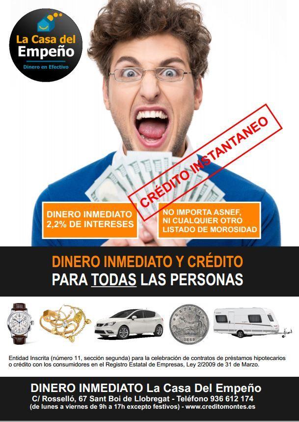 Empresas: Consiguir dinero en efectivo en La Casa del Empeño Sant Boi | Autor del artículo: Finanzas.com